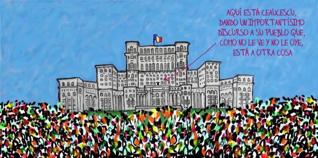protestas del Roto en Bucarest
