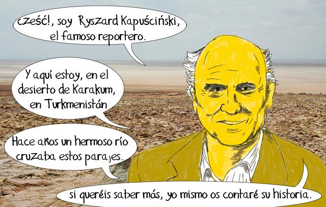 nuestro amigo Kapuscinski