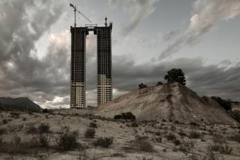 Otro desastre urbanístico en la costa española. Foto de Sergio Escalante del Valle
