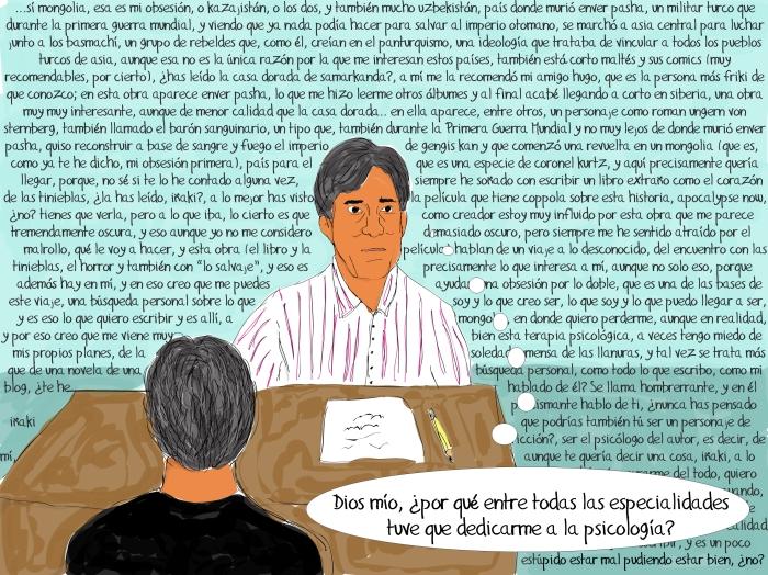 consulta de Iñaki Vázquez, psicoterapeuta