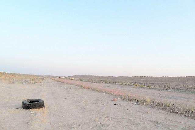 Otro de los desiertos en los que me he peredido últimamente. En este caso el Karakum, en Turkmenistán.