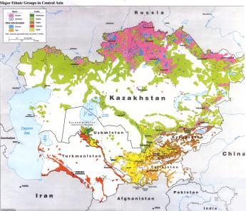 mapa linguistico