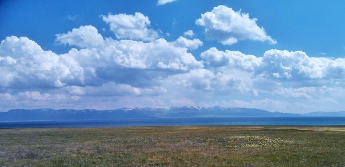Lago Song-Köl al que nos dirígíamos.