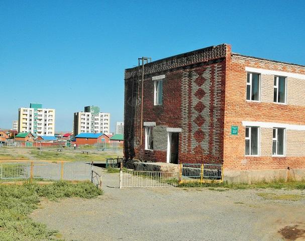 Arvaikher,otra de esas ciudades desangeladas donde pasé la mayor parte de mi tiempo en Mongolia.
