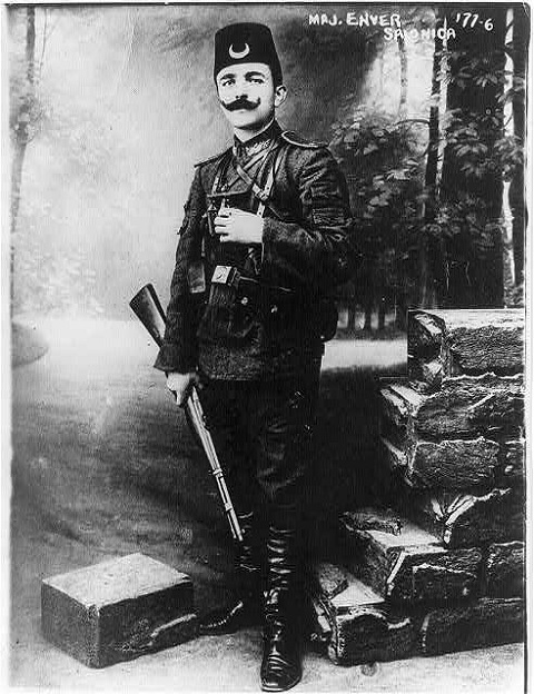 Enver Pasha, 1881?-1922