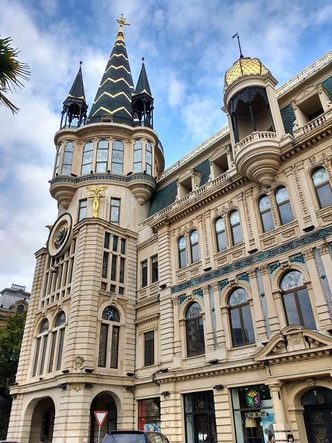Arquitectura rusa en Batumi, Georgia (el Cáucaso)